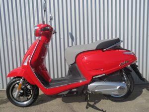 Kymco Like II 125i CBS bright red